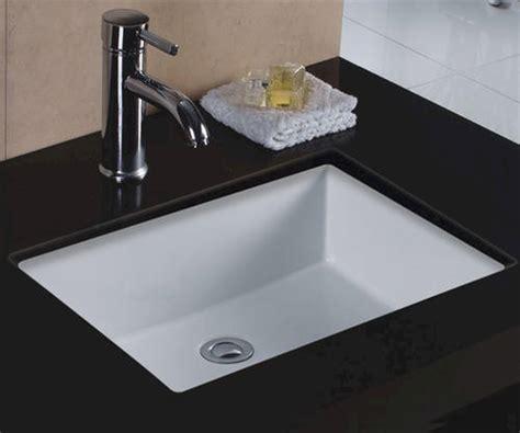 Square Bathroom Sinks Menards by Sinkware 20 Quot X 16 Quot Undermount Rectangular Bathroom