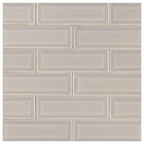 tile for bathroom floor msi portico pearl 2x6 beveled subway tile home decor az 23259