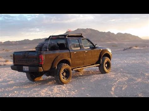 lifted nissan hardbody 2wd the punisher truck rises 2003 nissan frontier 2wd lifted