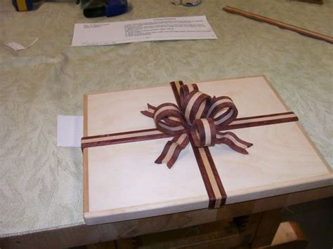 ribbon  bow box techniques  lenny  lumberjockscom