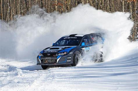 subaru wrx drifting 2015 subaru wrx sti jumps to quick win at sno drift rally