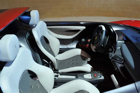 ferrari pininfarina sergio interior pininfarina sergio concept has ferrari 458 spider
