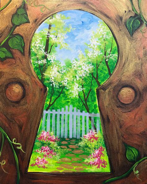 Secret Garden Painting Ideas Pinterest Gardens