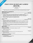 Executive Secretary Resume Sample 15 Secretarial Resume Examples Resume Template Info Pics Photos Free Legal Secretary Resume Exandle Resume Sample Resume Companion Administrative Secretary Resume