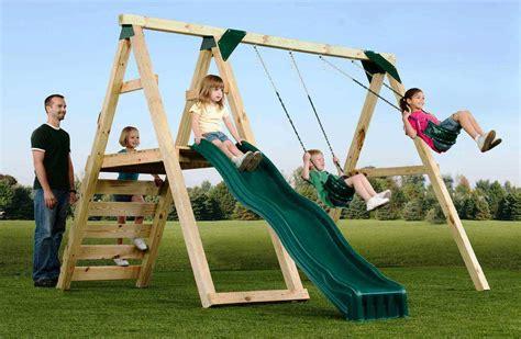 simple usable swing set backyard backyard swings set