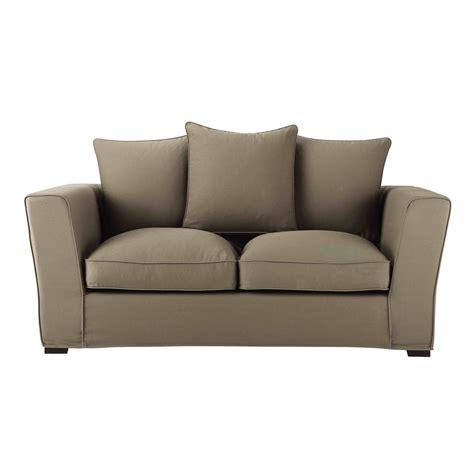 nettoyer canape tissu non dehoussable canapé 2 3 places en tissu taupe balthazar maisons du monde