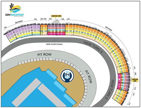 seating chart ism raceway