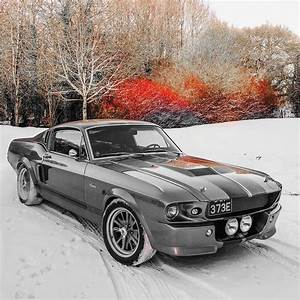 EXCLUSIVE: 'Eleanor' 67 Shelby GT500 In The UK Snowfall - Cars247