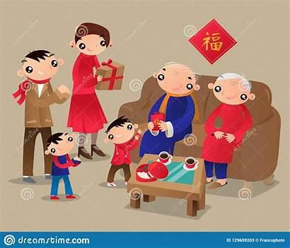 Kong Festival Hong Chinese Relatives Visits Reunion