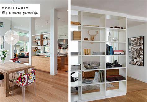 mobiliario  decoracion bilbao separar ambientes
