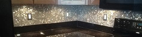 how to put backsplash in kitchen mosaic tile pattern mosaic stainless 8835