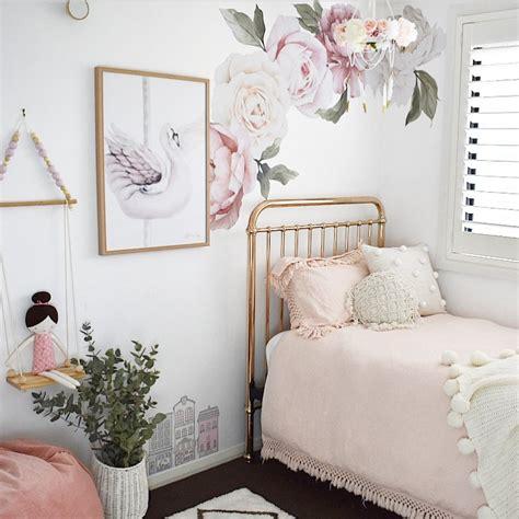 buy floral wallpaper  decals  girls nursery