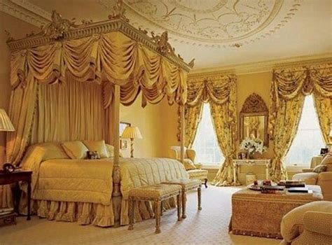 Victorian Bed Canopy Luxurious Curtain Style