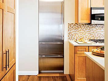 built  refrigerator contemporary kitchen