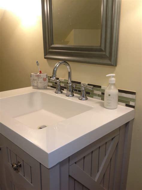 bathroom backsplashes ideas 30 amazing ideas about framing a bathroom mirror with