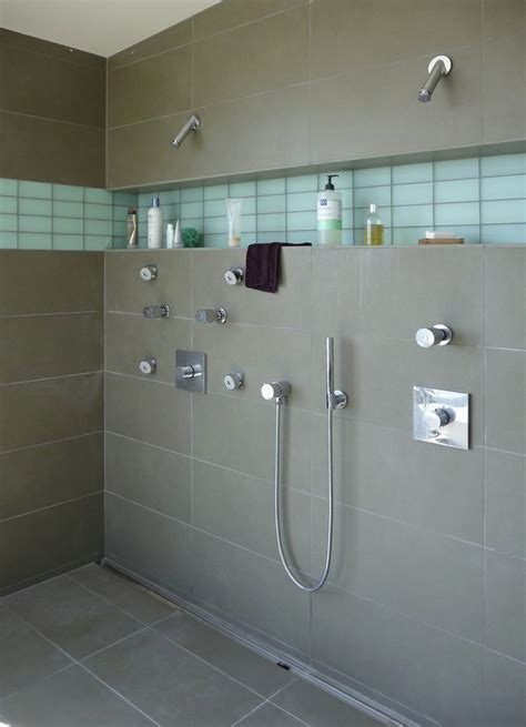 modern bathroom tiles make a statement with large floor tiles 13725