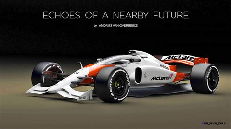 2019 Mclaren Honda F1 Car Renderings