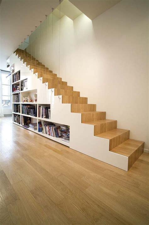 escalier droit en colimacon  pas japonais gain de
