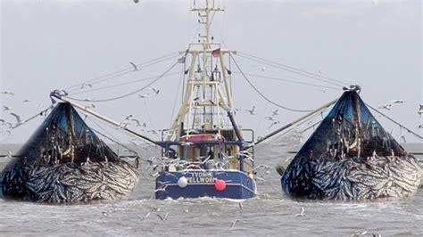 Fishing Boat Net by Fishing Boat Trawler Two Fishermen A Big Catch