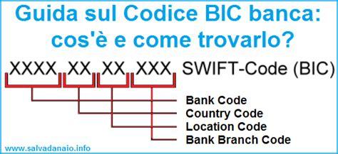 calcolare codice bic banca cose   trovarlo