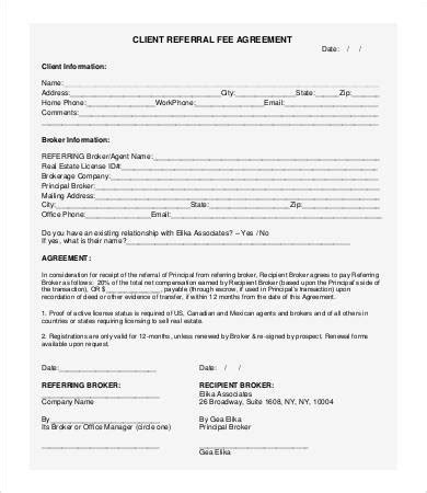 referral fee agreement gtld world congress