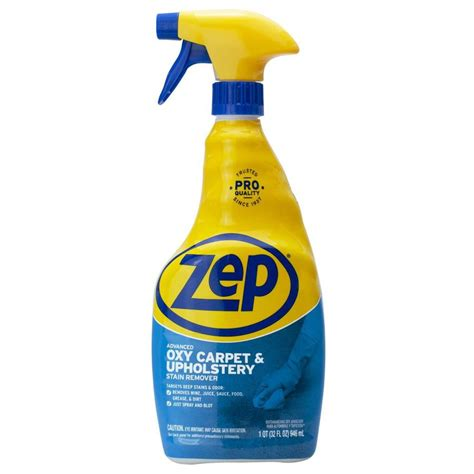 Upholstery Stain Remover by Zep Advanced Oxy Carpet And Upholstery Stain Remover 32 Oz