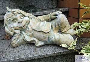 gartenfigur gartenzwerg wichtel zwerg troll gnom With französischer balkon mit troll figur garten