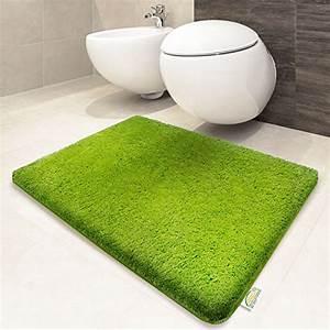 Tapis Salle De Bain Pas Cher : tapis de bain vert certifi oeko tex 100 et lavable ~ Edinachiropracticcenter.com Idées de Décoration