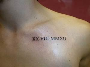 Tatouage Chiffre Romain Poignet : tatouage poignet chiffre romain cochese tattoo ~ Nature-et-papiers.com Idées de Décoration