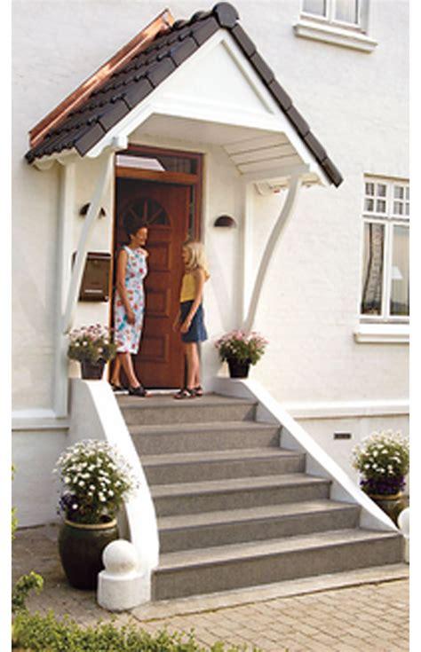 Schoen Und Schuetzend Ein Vordach Fuer Die Haustuer by Vordach F 252 R Haust 252 R Selbst De