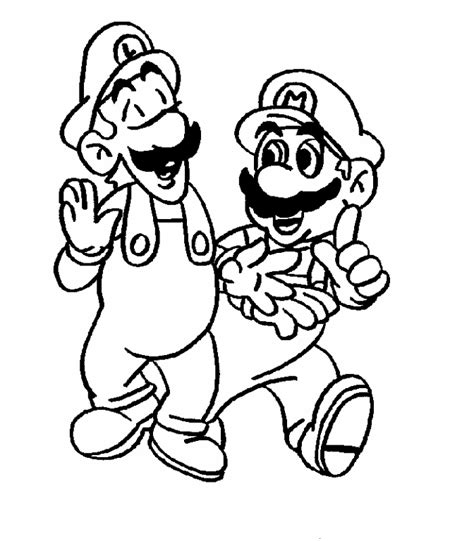 Wonderful super mario brothers coloring pages printable 2570. mario coloring pages to print - Free Coloring Pages Printables for Kids