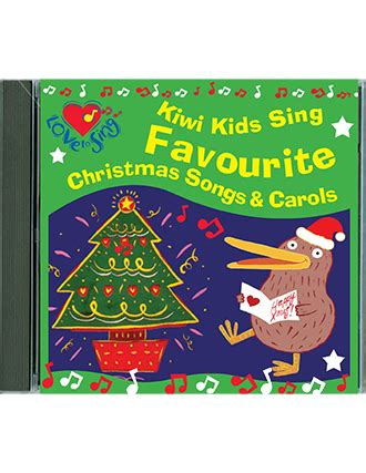 Kiwi Kids Sing Favourite Christmas Songs & Carols Double Cd  Kids Video Song With Free Lyrics