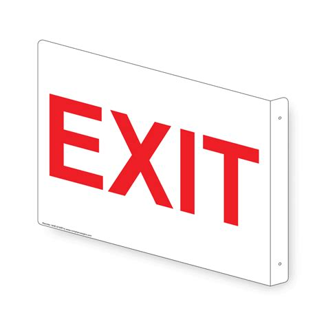 exit light enter exit sign nhe 6740proj enter exit