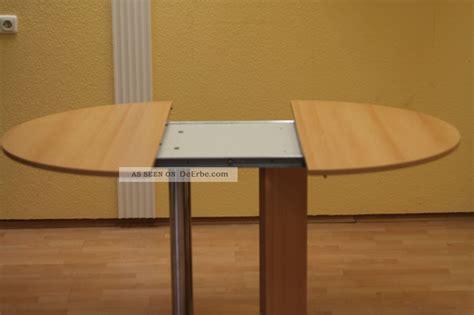 gestalten esstisch massiv runder tisch ausziehen runder tisch zum ausziehen integrierte platte anstecken