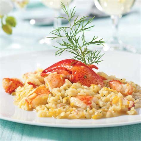 cuisine poireau risotto au homard et poireau recettes cuisine et