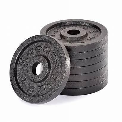 Plates Gym Weight Iron Golds Cast Standard