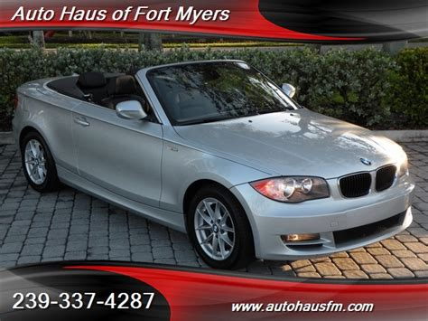 2010 Bmw 128i by 2010 Bmw 128i Convertible Ft Myers Fl For Sale In Fort
