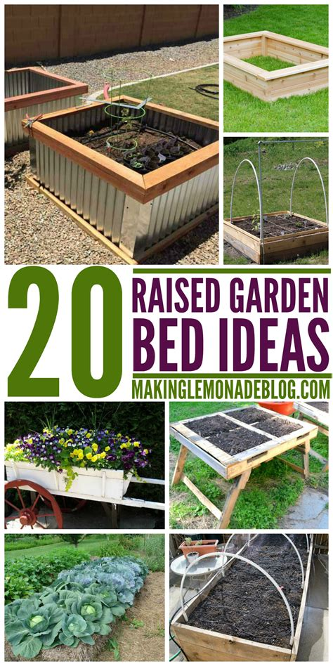 garden raised bed ideas 20 brilliant raised garden bed ideas you can make in a weekend making lemonade