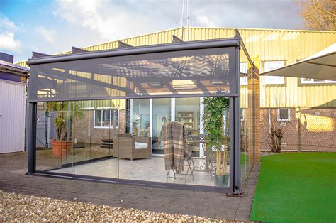Garden Room With Living Roof by About Us Samson Awnings