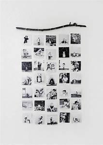 Bilder Collage Basteln : wanddeko selber machen wanddekoration ideen familienfotos weiser wand alles aus papier ~ Eleganceandgraceweddings.com Haus und Dekorationen