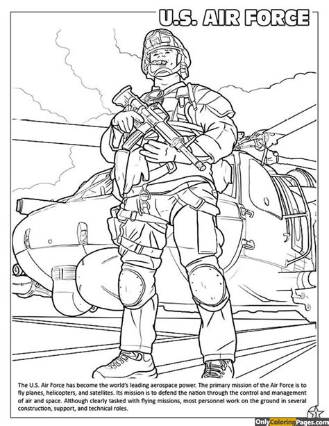 Air Force Coloring Pages  Free Printable Online Air Force