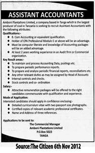 Cold Contact Cover Letter Assistant Accountant Tayoa Employment Portal