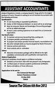 Assistant Accountant TAYOA Employment Portal Senior Accountant Assistant Manager Accounts Jobs The Accountant Jobs Vacancies In Sri Lanka Top Jobs Topjobs Microbiologist Assistant Accountant Job Opportunity 2017