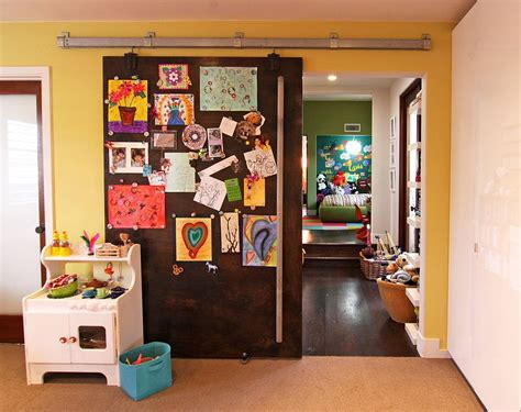Creative Kids' Rooms With Space-savvy Sliding Barn Doors