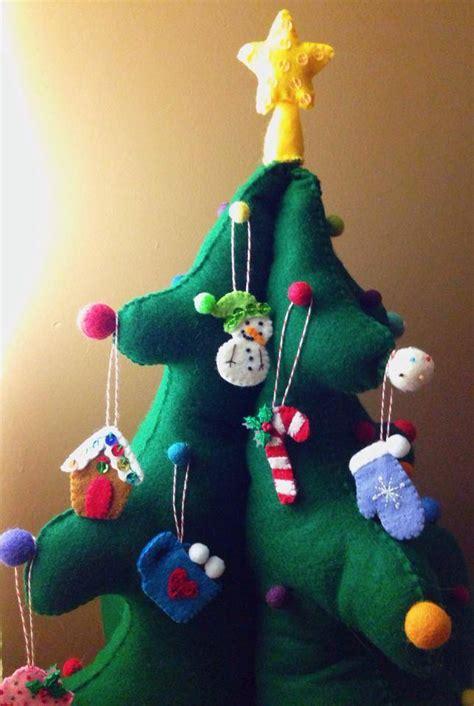 diy kids felt advent christmas tree american felt