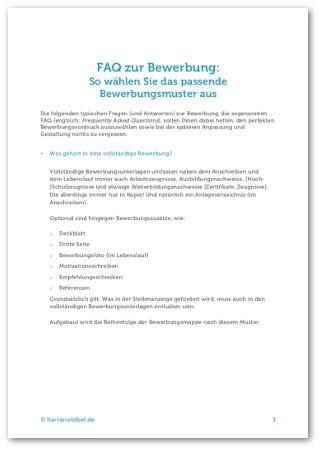 deckblatt bewerbung aufbau tipps und gratis vorlagen