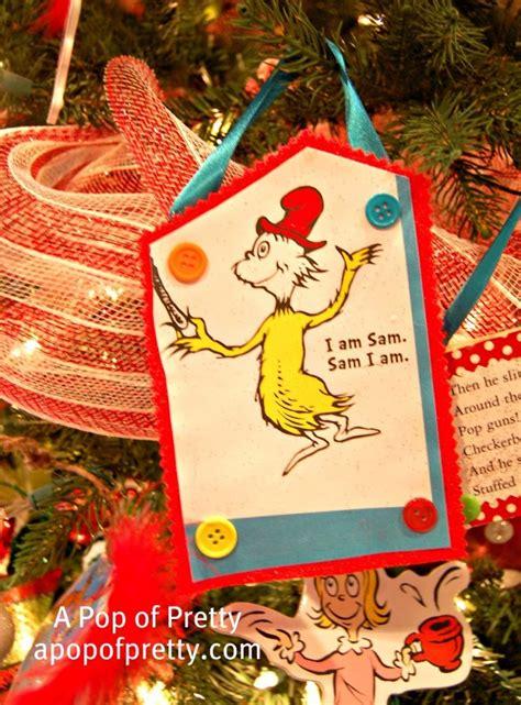 dr seuss themed christmas tree   pop