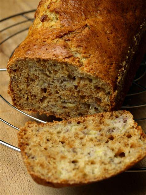 cake  la banane farine depeautre  miel cookismo
