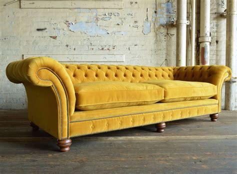 Rutland Velvet Chesterfield Sofa
