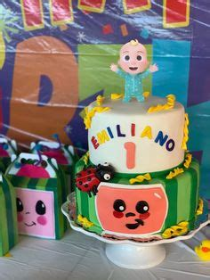 From invitations to cakes to decor to party favors and more, this is everything you need to throw the best cocomelon birthday party ever. Happy Birthday Cocomelon Theme Backdrops Kids Cocomelon ...